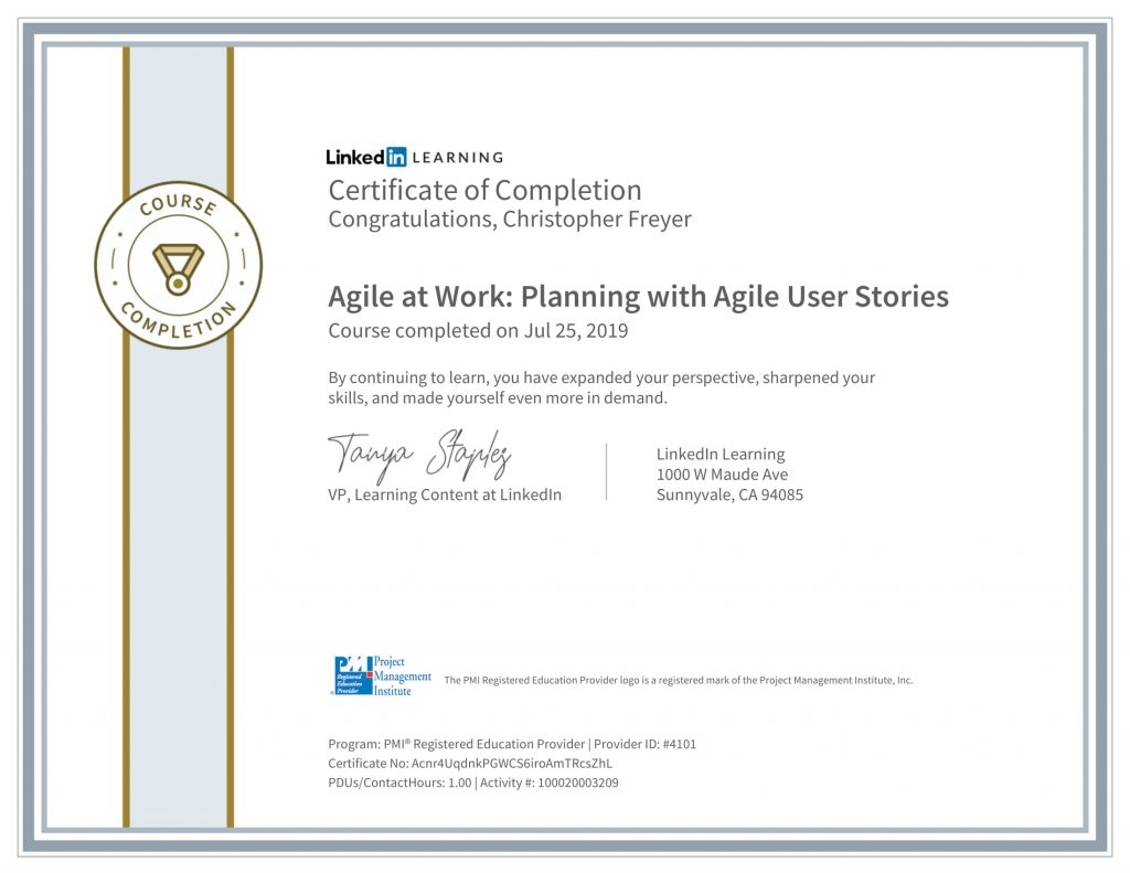 CertificateOfCompletion_Agile-at-Work_-Planning-with-Agile-User-Stories-1