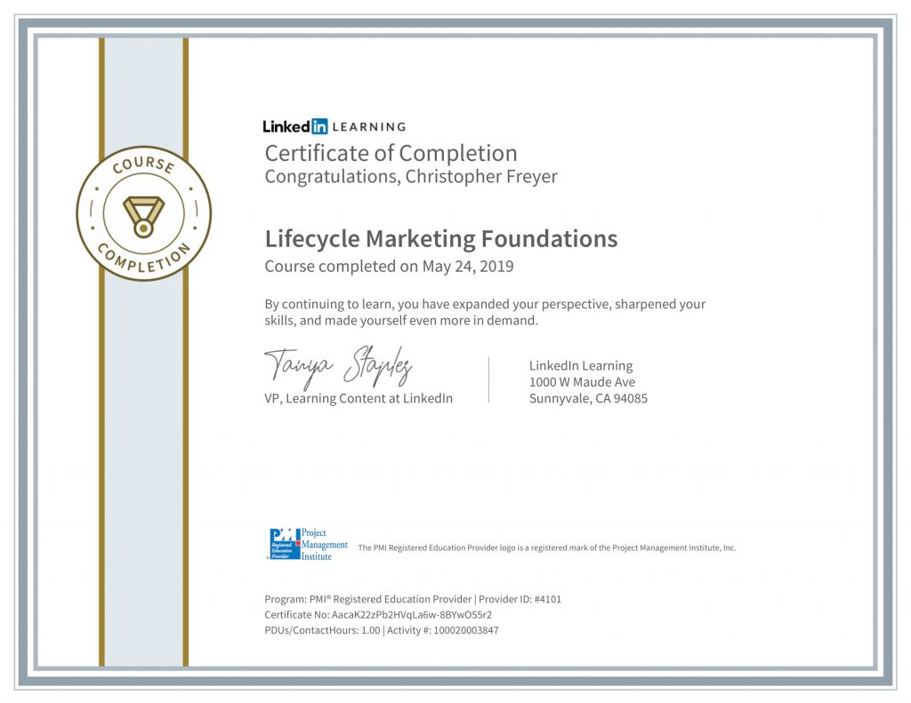 CertificateOfCompletion_Lifecycle-Marketing-Foundations-1