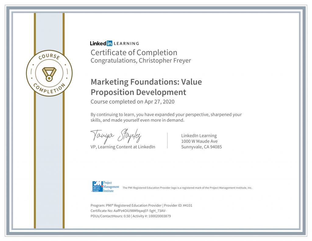 CertificateOfCompletion_Marketing-Foundations_-Value-Proposition-Development-1