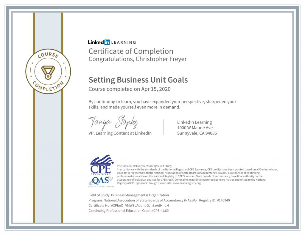 CertificateOfCompletion_Setting Business Unit Goals-1-Chris-Freyer