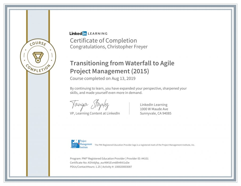 CertificateOfCompletion_Transitioning-from-Waterfall-to-Agile-Project-Management-2015-1