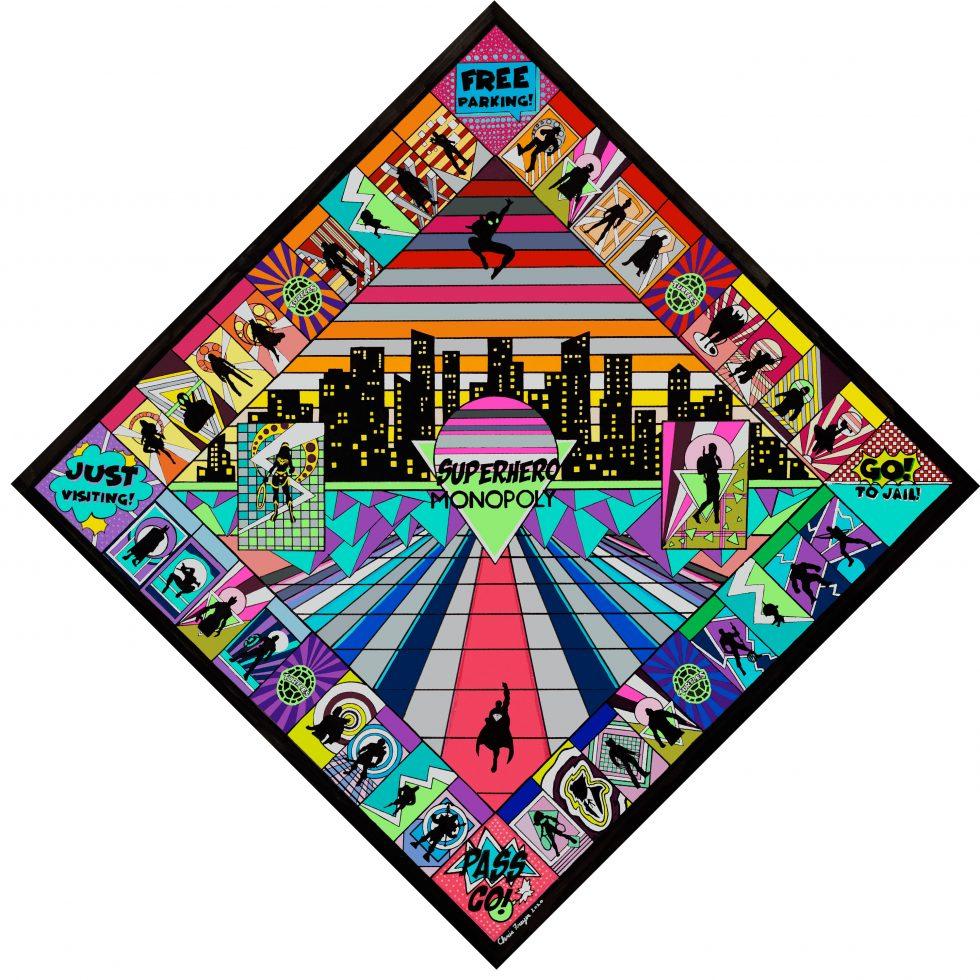 Superhero-Monopoly-by-Chris-Freyer