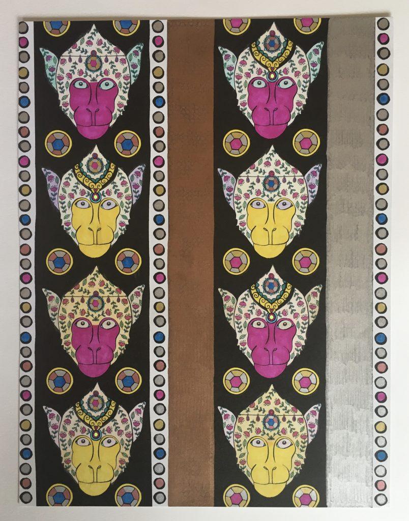 chris-freyer-coloring-30-monkey wallpaper