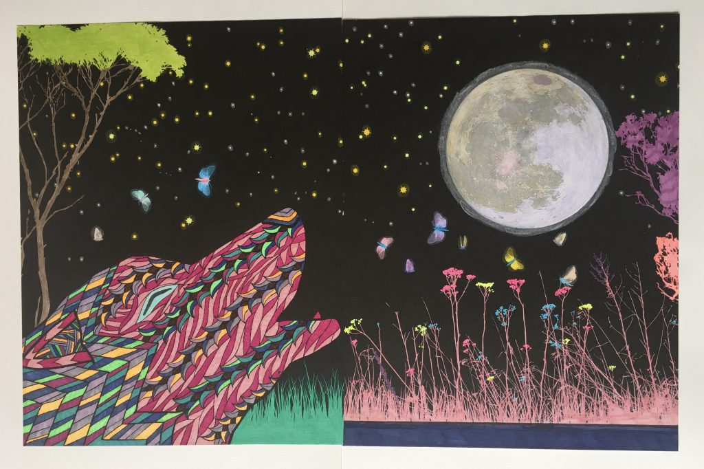 chris-freyer-coloring-33-wolf moon diptych