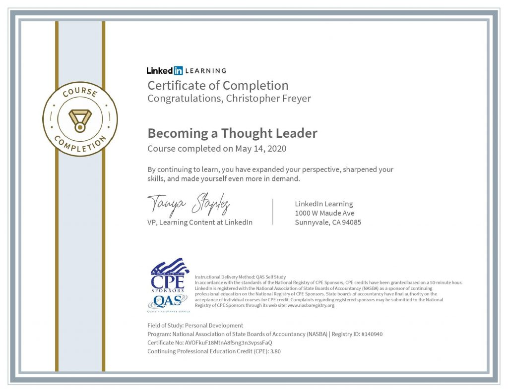 chris-freyer-CertificateOfCompletion_Becoming a Thought Leader(1)